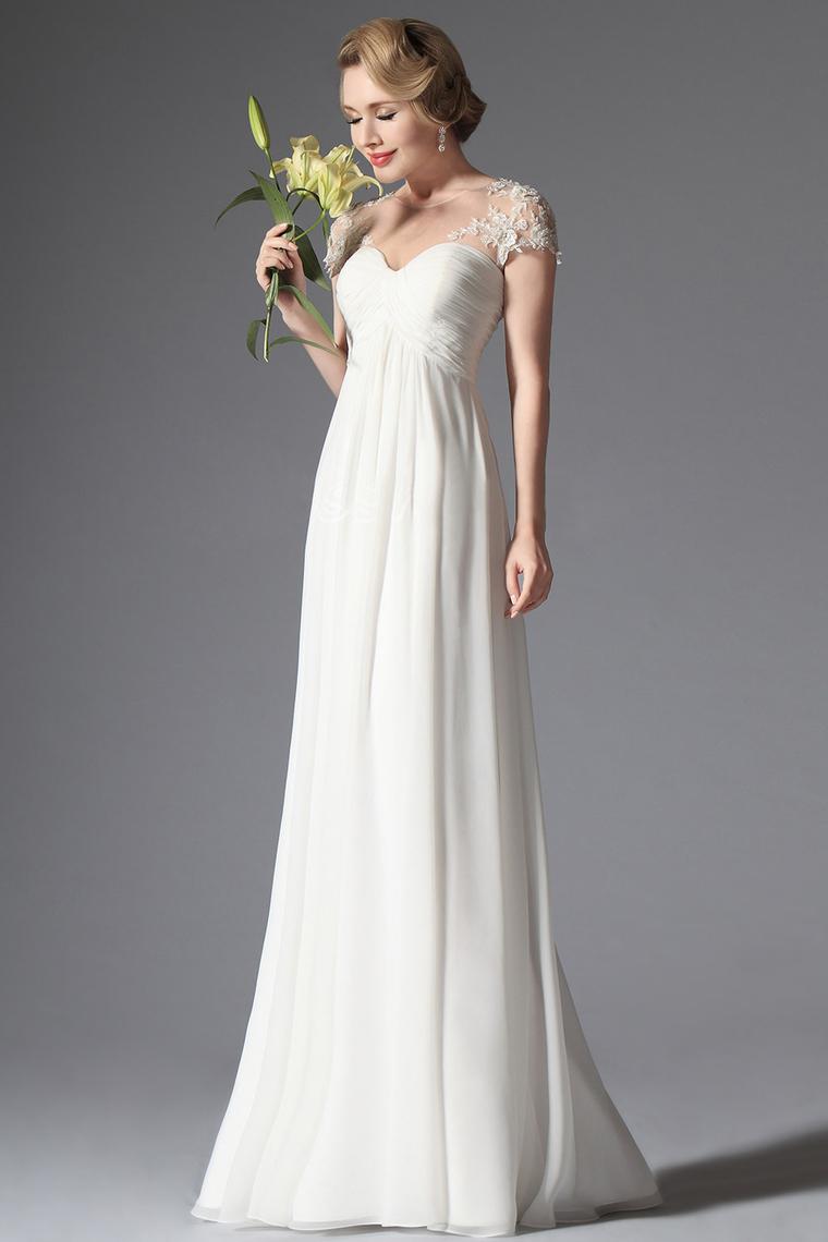 Aliexpress.com : Buy Custom Made Short Sleeve Wedding ...