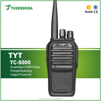 Cheap UHF/VHF Portable Two Way Radio 16 Channels Interphone TYT TC-5000 Transceiver