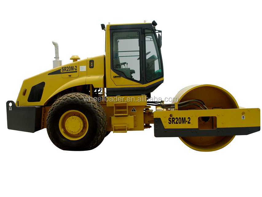 SHANTUI SR20-3 Full Hydraulic Single Drum Road Roller Machine Price