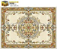 Classic Marble Waterjet Flooring Pattern For Hall - Buy Marble ...