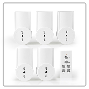 Wireless smart power plug remote control socket