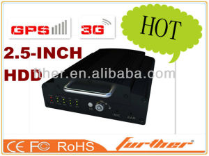 Professional 3G mobile CCTV Stand alone DVR Car DVR With GPS Traker G-sensor Recording Built with 4CH Alarm Input Ports