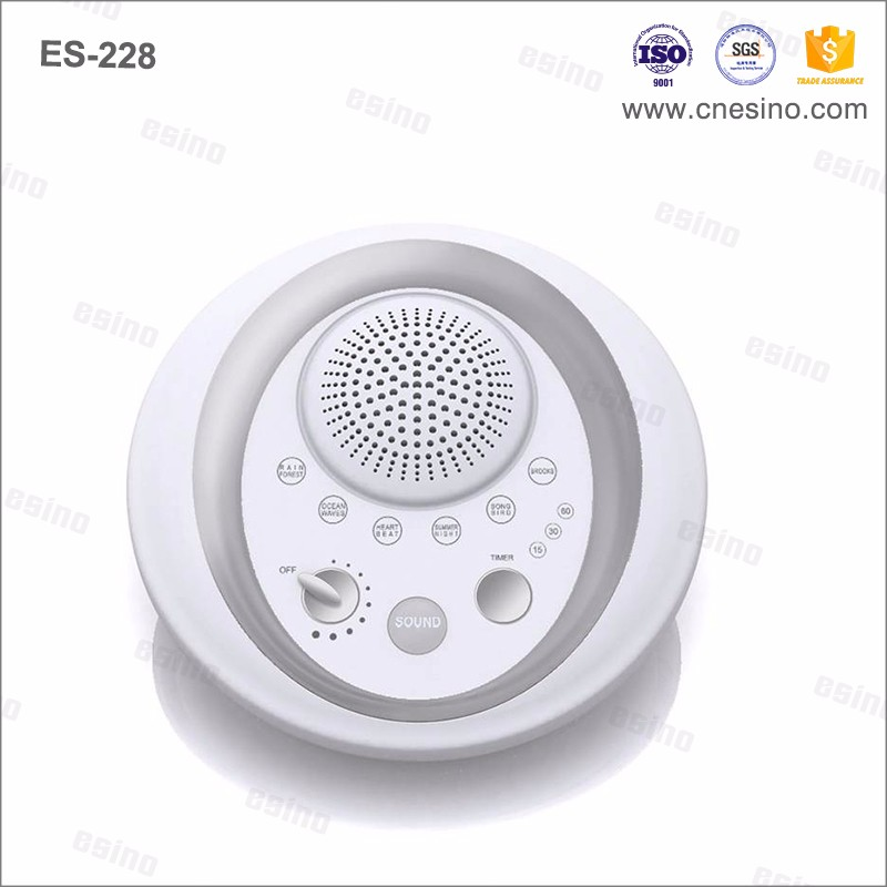 Baby Sleep Soother White Noise Sound Machine with Natural Sounds, Different Volume & Time Setting