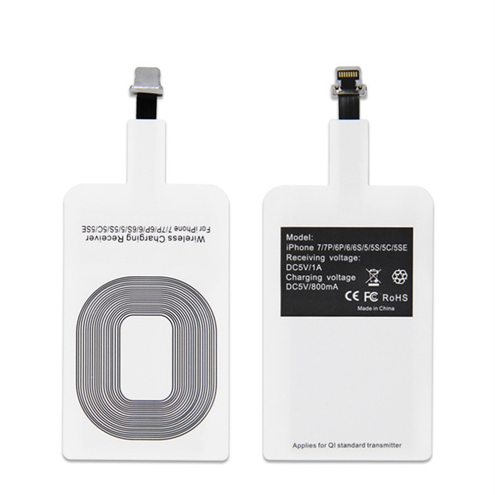 2018 Qi Universal Wireless charger Receiver card for iphoneX phone fast charge