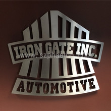 3D Metal Letter Sign, custom production logo & signage