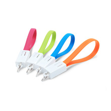 Micro Keychain USB Data Cord for Mobile Phone,Mini Keychain USB Charger Cable for Smartphone
