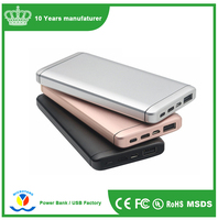 Mobile power bank 10000mah,power banks and usb chargers,mobile power supply