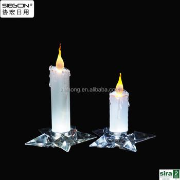 Acrylic Candle Led Bulb,Wall Art With Led Lights Canvas Print ...