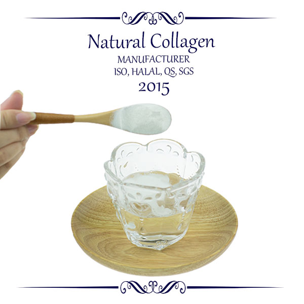 A daily glass of pure collagen of collagen slim can keep people slimmer