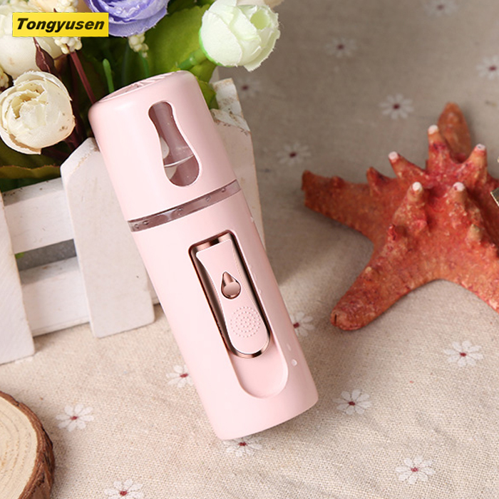 2019 trending producten handy mini nano mist spuit facial steamer voor skin hydrating