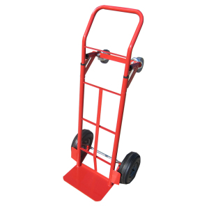 Portable 4 wheels Steel folding hand trolley carts size for sale