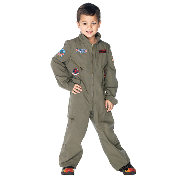 Factory hot koop kids pilot kostuum