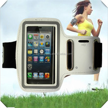 hot sale pvc Running neoprene sport armband for iPhone 5,waterproof case
