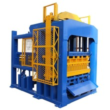 standard concrete solid block making machines with concrete batching plant