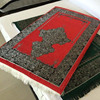 High quality Embossed print Non slip memory foam muslim prayer mat Carpet
