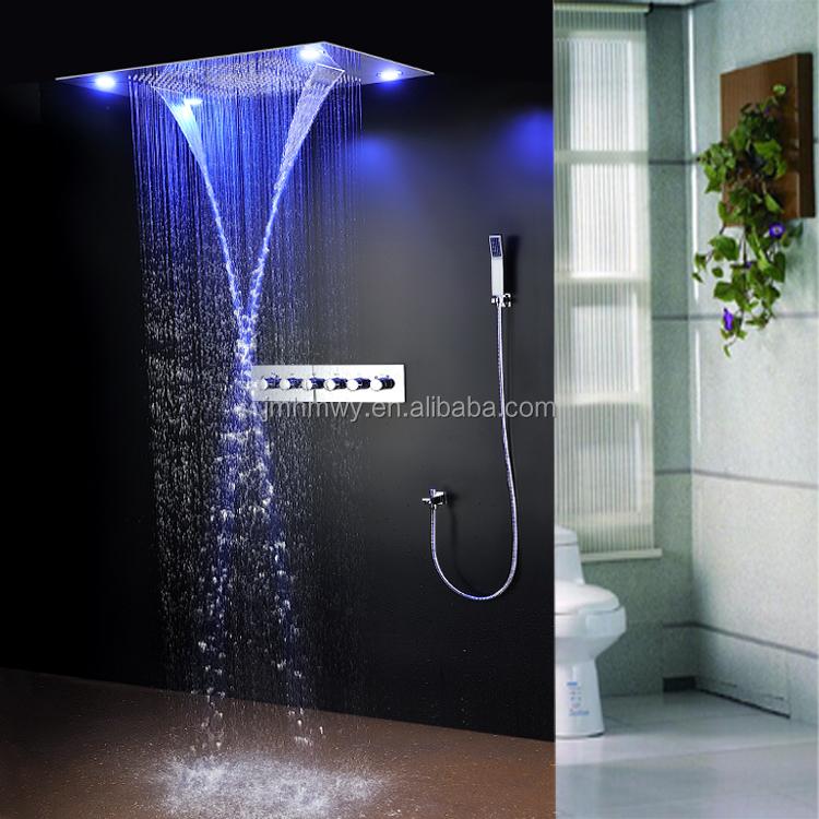 5-way LED badkamer douche mengkraan kraan luxe Badkamer 600*800mm ...