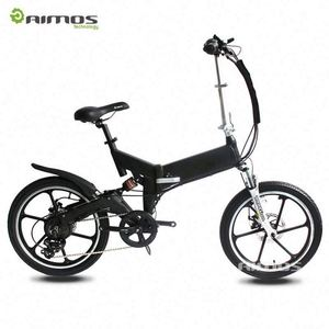 "16"" 48v 250w Front/rear shock Aluminium alloy fram folding electric bike JG16-02"
