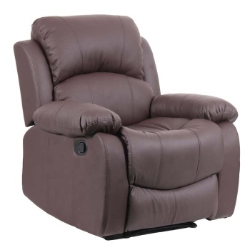 Modern Leather Single Recliner Sofa