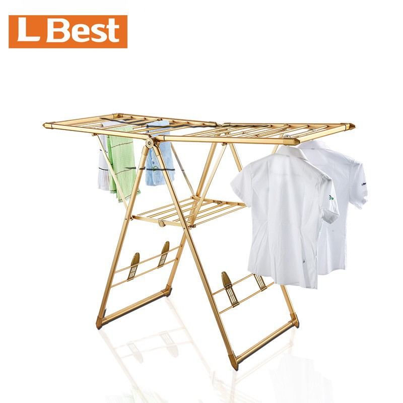 Large Electric Heated Cloths Airer Dryer Indoor Laundry Foldable Rack Washing