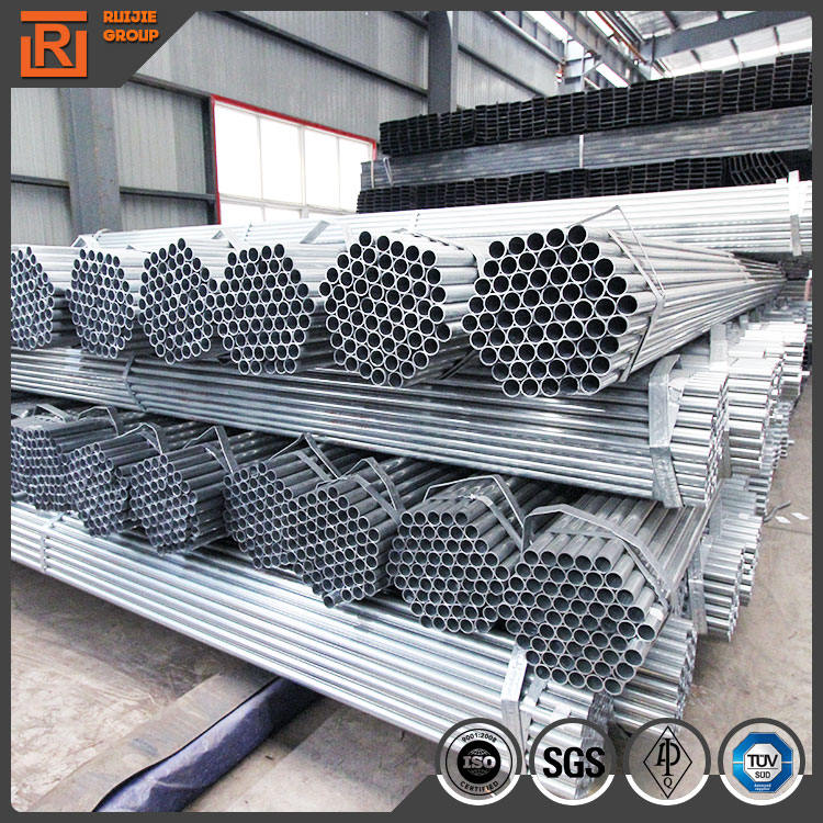 Q235 Structural Materials Galvanized Steel Frame Greenhouse Tube with Parts