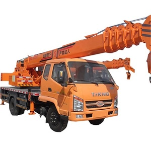 mini flatbed tow truck mounted crane