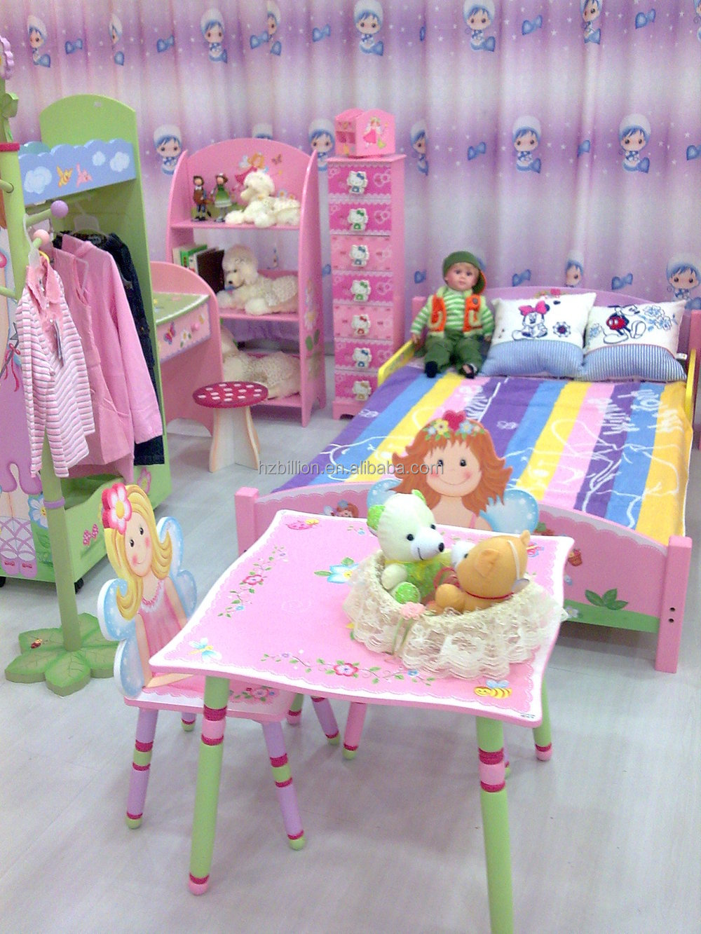 kids study furniture. Lovely And Fashion Wooden Princess School Kids Study Table With 2 Chairs Set In Furniture