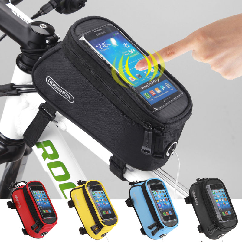 Roswheel Cycling Bike Bicycle Frame Iphone Holder Pannier