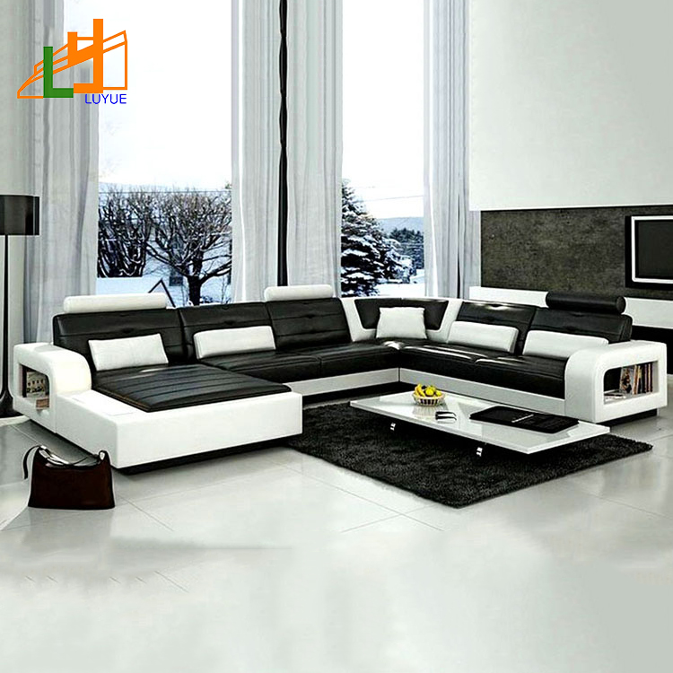 Customized European Style Luxury Furniture L Shaped Corner Couch Set Real  Leather Modern Sofa - Buy Modern Sofa,Modern Sofa Set,Luxury Sofa Product  on ...