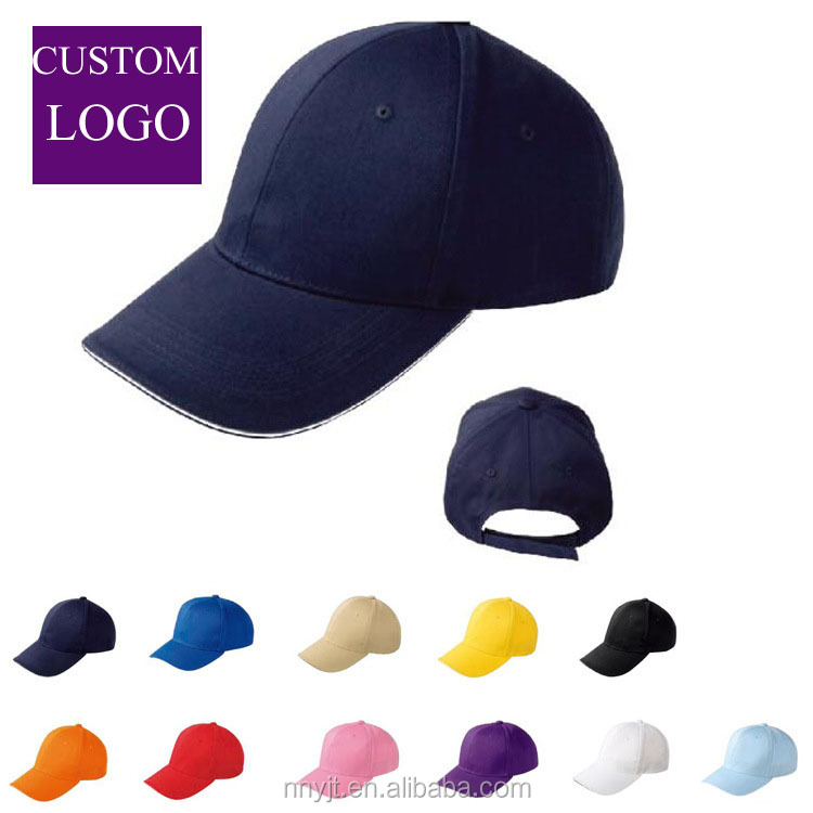 <strong>Custom</strong> Your Own Logo Caps Blank 100% Cotton Soft Cap Hat Baseball Design