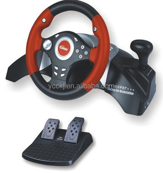 2014 new programmable gear shifter and hand brake racing car game steering wheel joystick for pc. Black Bedroom Furniture Sets. Home Design Ideas