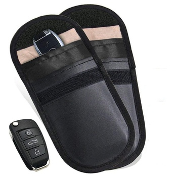 Key Fob Holder Rfid Blocking Case Car Key Signal Block Cover For