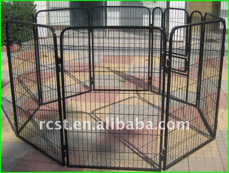 8 face panneaux chien cage bo tier cage caisse transporteur maison pour animaux domestiques. Black Bedroom Furniture Sets. Home Design Ideas