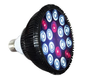Custom color led grow light fish tank lamp PAR38 bulb for coral reef marine fish sps lps