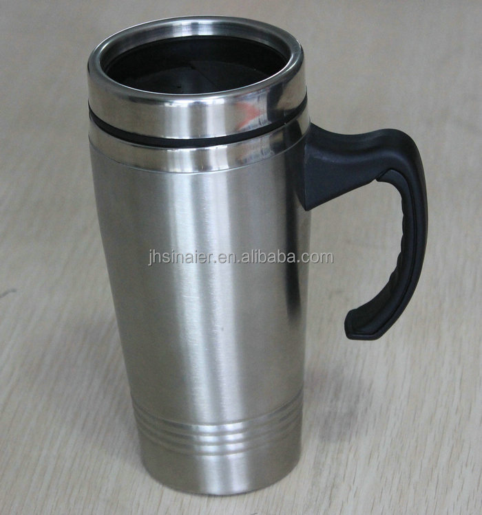 Thermos Thermo coffer Translucent Desk Travel Mug