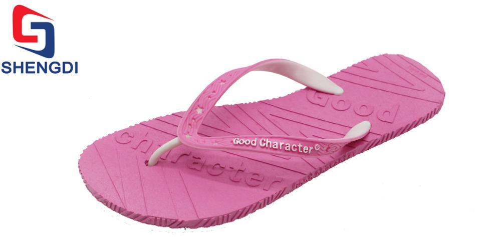 449d26d1f flip flops with pvc straps for women pvc slipper uppers strap plastic debossed  flip flop