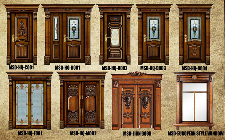South indian modern solid wood front safety door designs Front door grill designs india