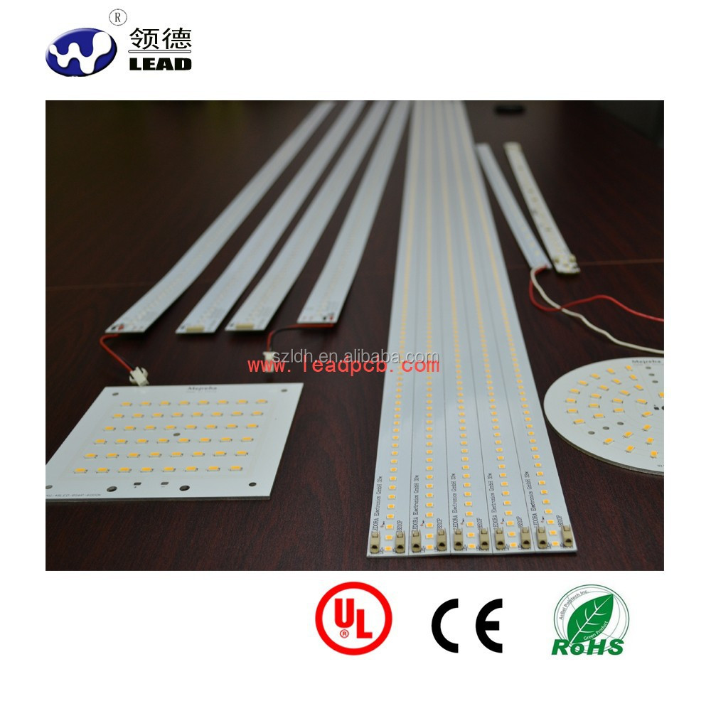 High Cost-Effective Rohs & UL certification pcb assembly 5630/5730 smd aluminum led rigid light