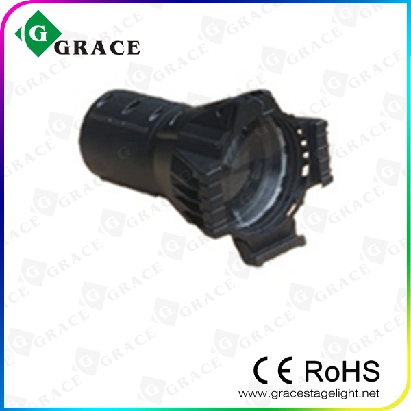 hotsale 2015 new DMX512 9chs 180w rgbw 4in1 led profile spot light 10 degree
