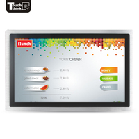 19 Inch HDM Panel PC Smart Touch Monitor wide screen display