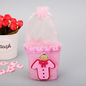 silk screen printed petal favour boxes in assorted sizes and colours for packaging chocolates, gift, and baby showers,
