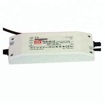 45W 36V LED Driver PLN-45-36 Meanwell LED Panel Power Supply IP64