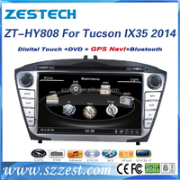 ZESTECH 8 inch Touch screen In-dash car dvd player for hyundai tucson ix35 2014 car radio GPS with Bluetooth/RDS/SWC