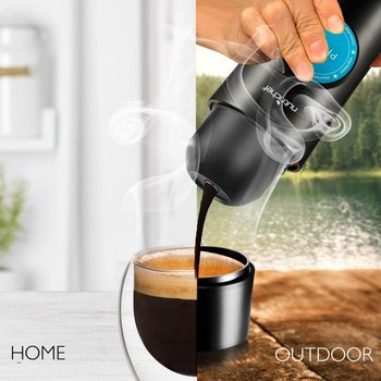 portable usb outdoor minipresso coffee machine with cafe warmer function factory 2in1 electric automatic coffee maker
