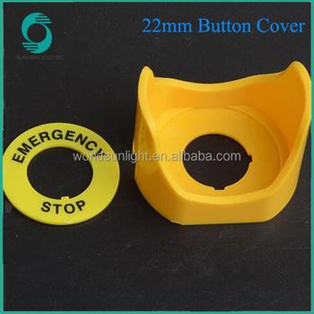 83bb41064 Diâmetro 22mm botão interruptor acessórios anel De parada de Emergência  botão ...