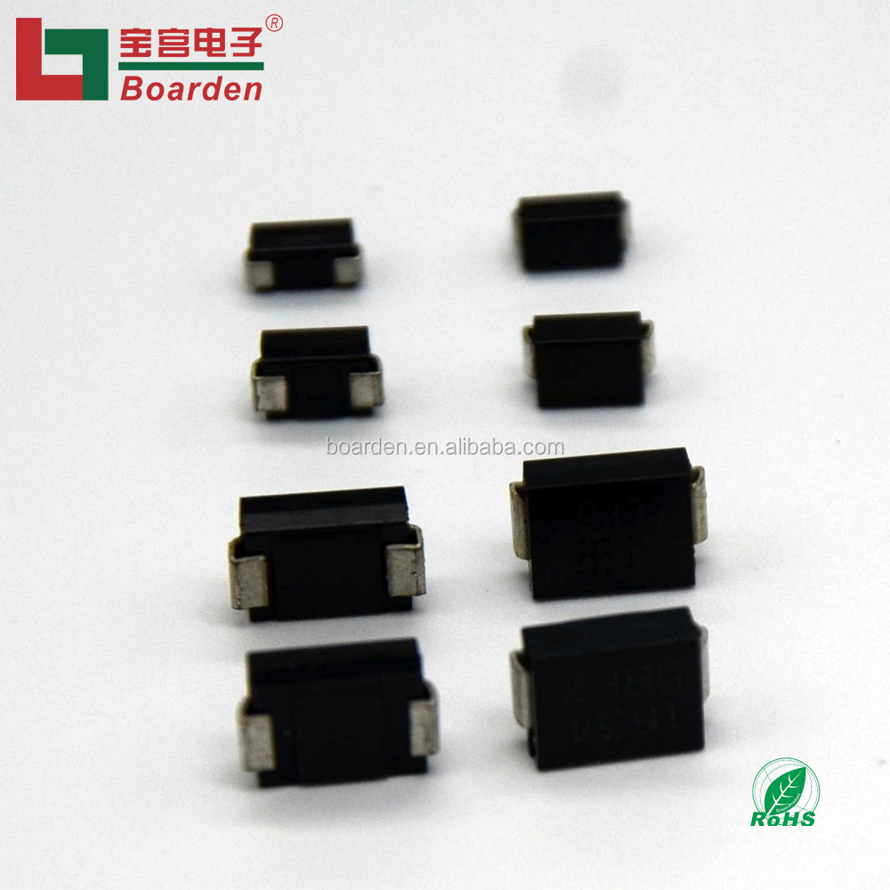 100 pieces Transient Voltage Suppressors TVS SURF MT DO214AA TVS Diodes