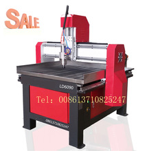 Guangzhou supplier 6090 mini wood advertising cnc engraving router machine in stock