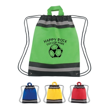 Made in China Nonwoven Drawstring Gym Bag
