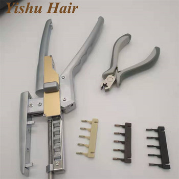 2019 Top selling Cuticle Aligned 6D human Hair Extensions used for 6D1 and 6D2 hair extension machine
