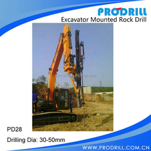 Wholesales PD28 Dia:30-50mm Excavator Mounted Rock drill