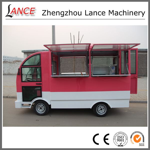 New product mobile kebab van with cooking equipments